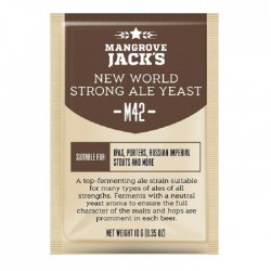 New world strong ale yeast M42